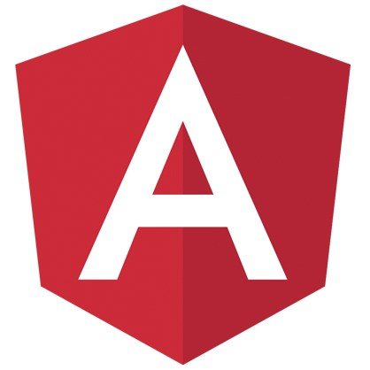Angular Logo Stickers