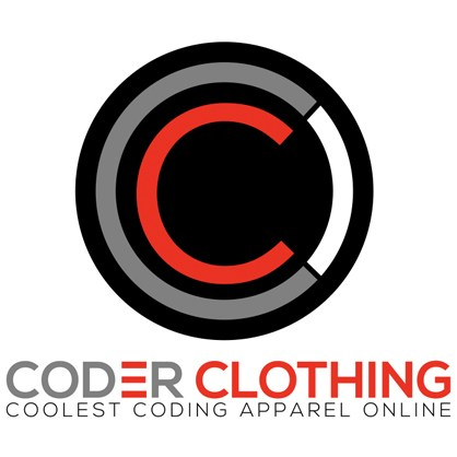 Coder Clothing Logo Stickers
