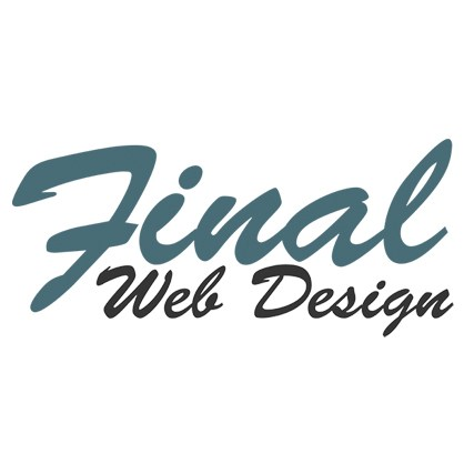 Final Web Design Logo Stickers