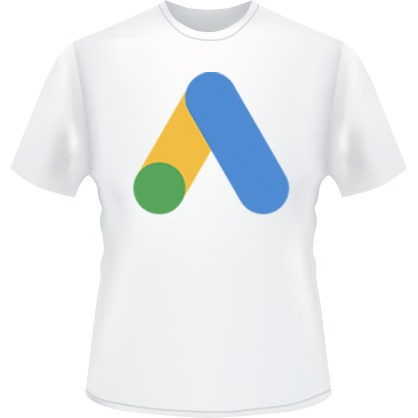Google Ads Icon T-Shirt (White)