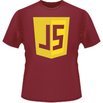 JavaScript Icon T-Shirt (Red)