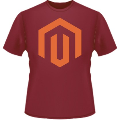 Magento Icon T-Shirt (Red)