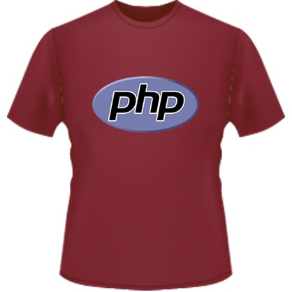 PHP Logo T-Shirt (Red)